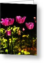 Tiptoe Through The Tulips Greeting Card