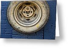 Tire Midwood Brooklyn Greeting Card