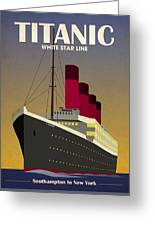 Titanic Ocean Liner Greeting Card