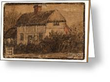 Title A Cottage Greeting Card