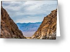 Titus Canyon Greeting Card