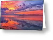 Titusville Sunset Greeting Card