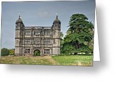 Tixall Gatehouse Greeting Card