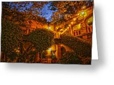 Tlaquepaque Evening Greeting Card