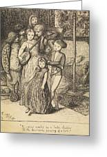 To Caper Nimbly In A Lady's Chamber To The Lascivious Pleasing Of A Lute Greeting Card