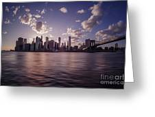 To Reign In Dusk Greeting Card