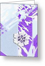 To Save A Snowflake, Portrait Orientation Greeting Card