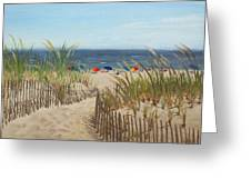 To The Beach Greeting Card
