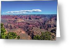 To The Edge Of Vastness Greeting Card