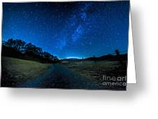 To The Milky Way Greeting Card