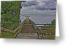 A Walk To The Sea Greeting Card