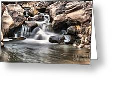 To Watch Calm Water Greeting Card