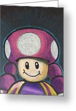 Toadette Greeting Card