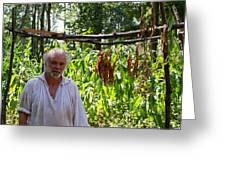 Tobacco Farmer Greeting Card