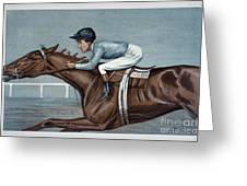 Tod Sloan (1874-1933) Greeting Card