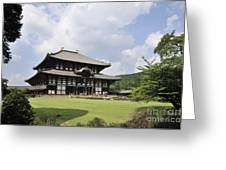 Todaiji Temple Greeting Card