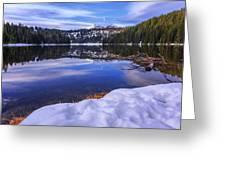 Todd Lake Greeting Card