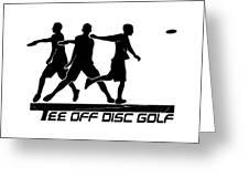 Todg Black Logo Greeting Card
