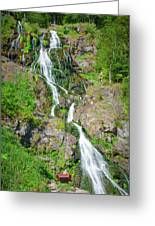 Todtnau Waterfall, Black Forest, Germany Greeting Card