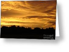 Toffee Sunset Greeting Card