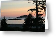 Tofino Sunset II Ss 1027 Greeting Card