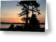 Tofino Sunset IIi Ss 1031 Greeting Card