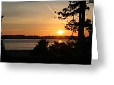Tofino Sunset Ss1027 Greeting Card