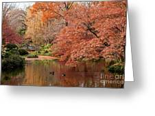 Together In Fall Greeting Card