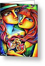 Together In Love Greeting Card