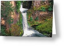 Toketee Falls Greeting Card