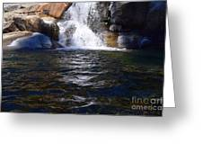 Tokopah Falls Trail Greeting Card