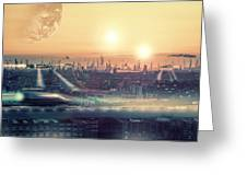 Tokyo 3017 Greeting Card
