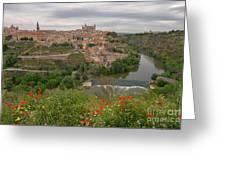 Toledo City, Spain Greeting Card