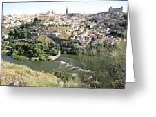 Toledo Morning Greeting Card