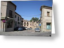 Toledo Old Corridor Greeting Card