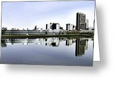 Toledo Panoramic View Greeting Card