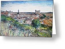 Toledo Spain 2016 Greeting Card