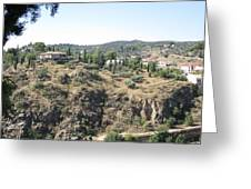 Toledo Spanish Home With A View Greeting Card