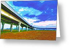 Toll Road Greeting Card
