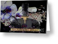 Tom Ford Black Orchid Greeting Card