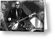 Tom Petty 2 Greeting Card by Lucrecia Cuervo