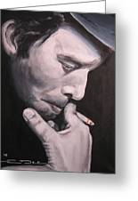 Tom Waits Two Greeting Card