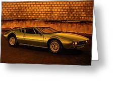 Tomaso Mangusta Mixed Media Greeting Card