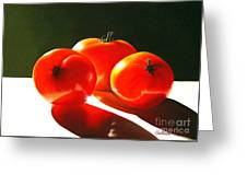 Tomayta Tomato Greeting Card