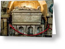 Tomb Of Dom Henrique Greeting Card