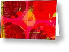 Tombola De Amor. Greeting Card