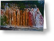 Tombs Land Formation Greeting Card