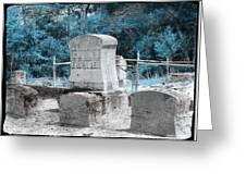 Tombstone Amiss Greeting Card