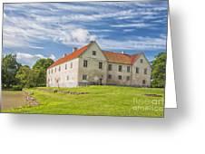 Tommarps Kungsgard Slott Greeting Card