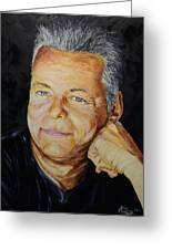 Tommy Emmanuel Guitar Virtuoso Greeting Card